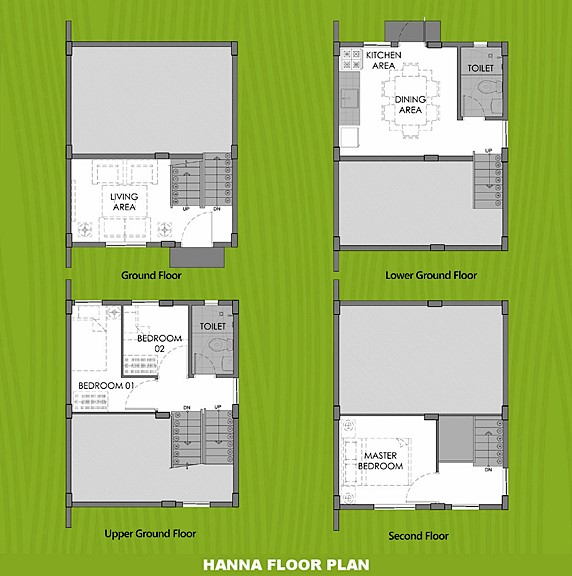 Hanna Floor Plan House and Lot in Tacloban
