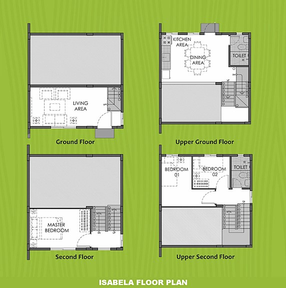 Isabela Floor Plan House and Lot in Tacloban