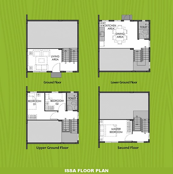 Issa Floor Plan House and Lot in Tacloban