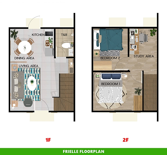Frielle Floor Plan House and Lot in Tacloban